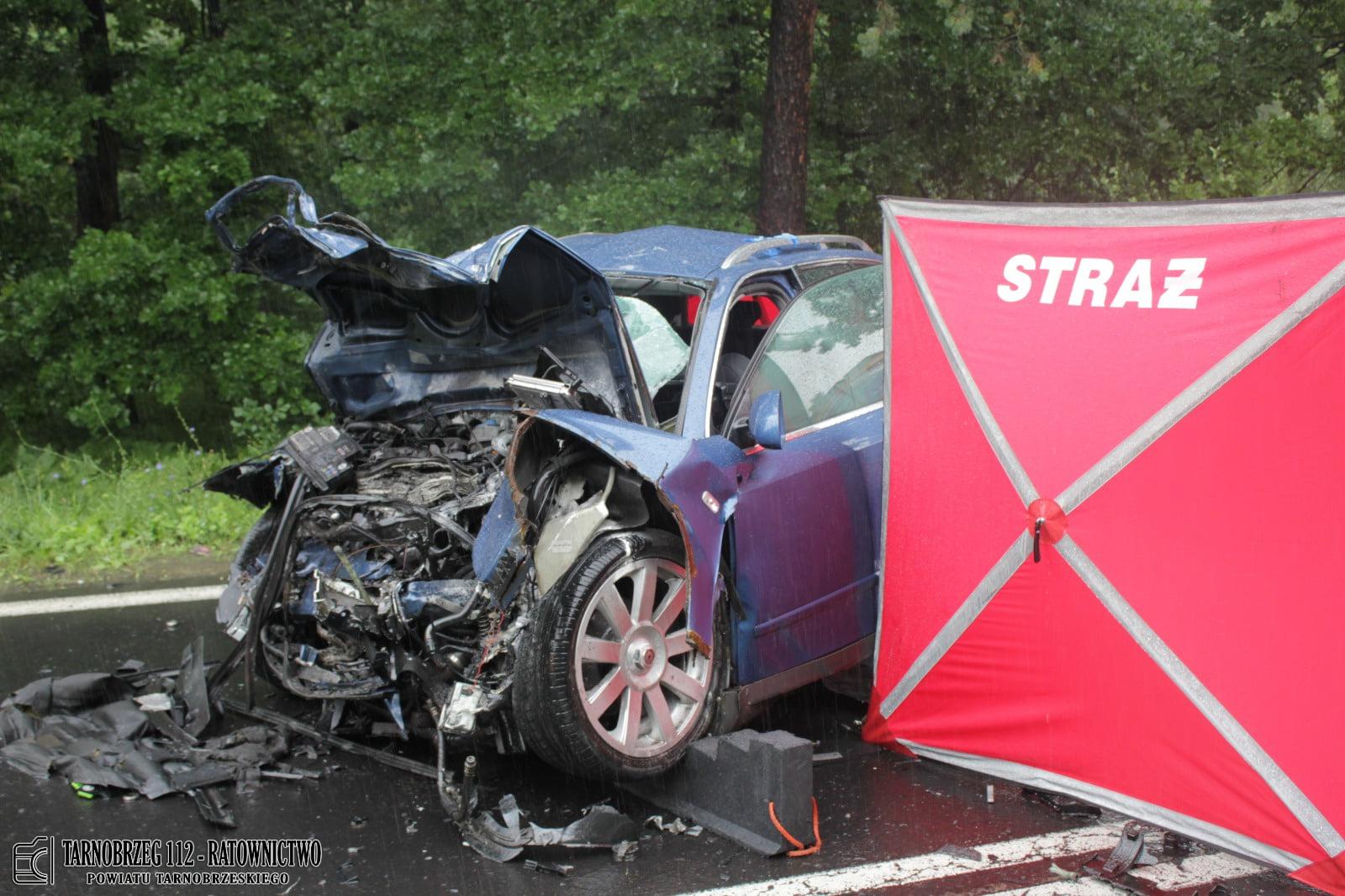 Sprawca tragicznego wypadku koło Stalowej Woli przewieziony do aresztu! - Zdjęcie główne
