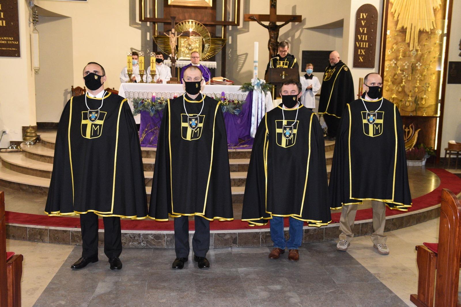 Zakon Rycerzy Jana Pawła II utworzył chorągiew na Podkarpaciu - Zdjęcie główne