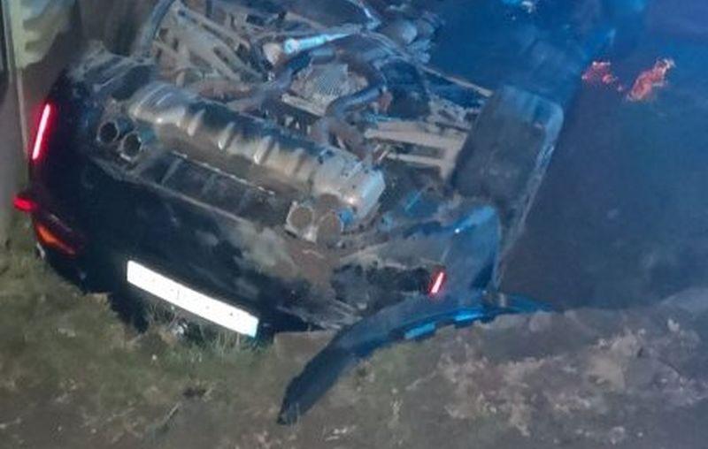 Dwa wypadki na drodze krajowej numer 94. Dachowanie w Kraczkowej, czołówka w Ropczycach - Zdjęcie główne