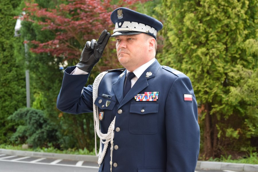Komendant podkarpackiej policji, po 29 latach służby, przechodzi na emeryturę - Zdjęcie główne
