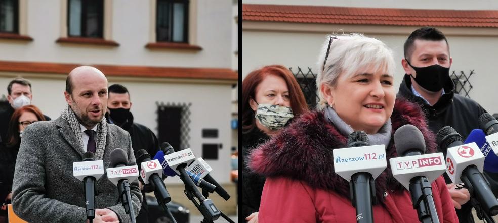 Konrad Fijołek z poparciem Agnieszki Itner. Organizatorka strajków kobiet rezygnuje ze startu w wyborach - Zdjęcie główne