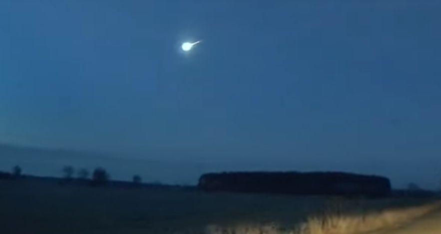 Piękny bolid rozświetlił niebo [VIDEO] - Zdjęcie główne