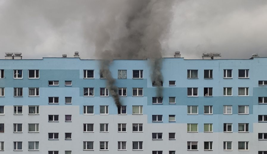 NOWE FAKTY po pożarze w jednym z rzeszowskich wieżowców - Zdjęcie główne