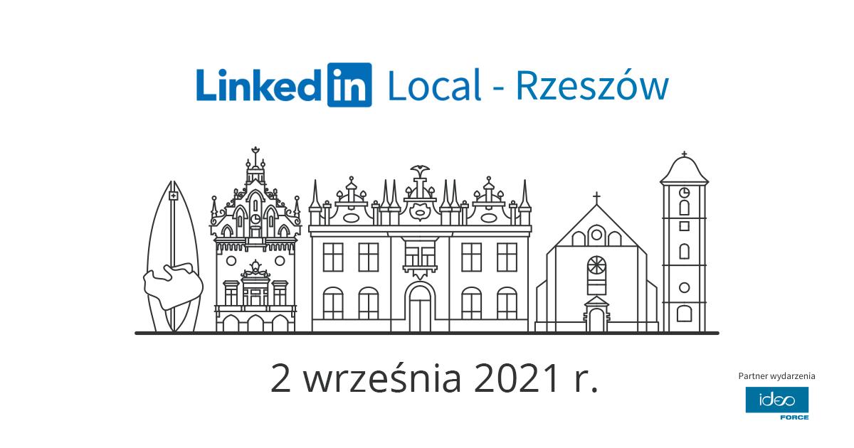 To już 7. edycja LinkedIn Local Rzeszów! - Zdjęcie główne