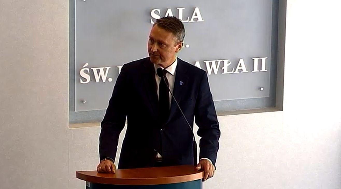 Czy samorząd Mielca pomoże Stali? Prezydent miasta Jacek Wiśniewski o wsparciu dla biało-niebieskich - Zdjęcie główne