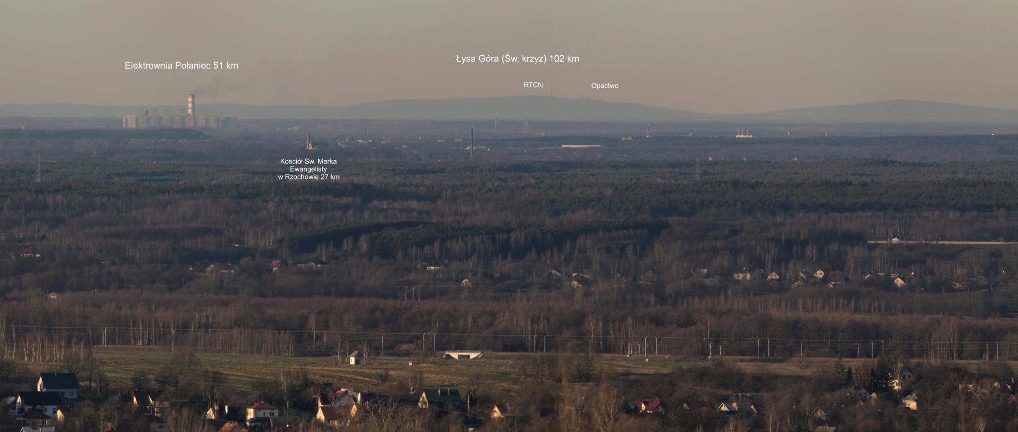 Tak wygląda Mielec z okolic Ropczyc [FOTO] - Zdjęcie główne