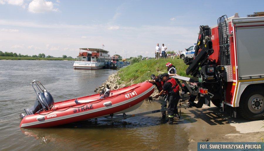 Zaginął wędkarz! Strażacy przeszukują rzekę!  - Zdjęcie główne