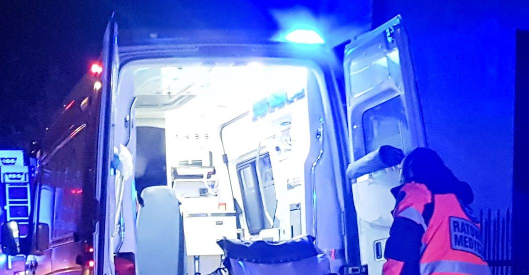 Jedna osoba ranna. Wypadek w Grębowie - Zdjęcie główne