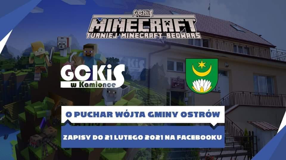 Organizują turniej Minecraft BedWars o Puchar Wójta - Zdjęcie główne