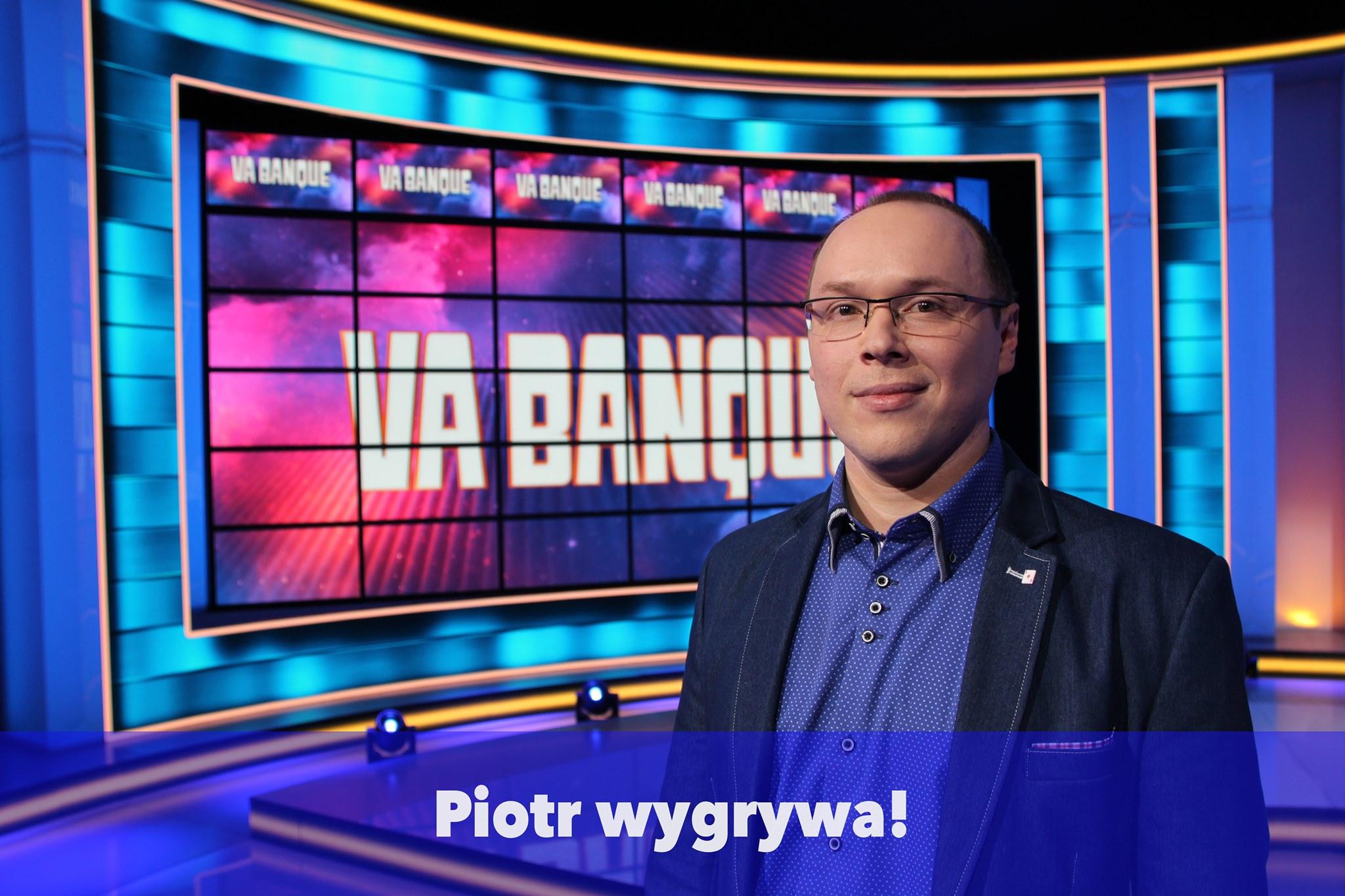 """Idzie jak burza w programie """"Va banque"""". Druga wygrana tarnobrzeżanina [WIDEO] - Zdjęcie główne"""