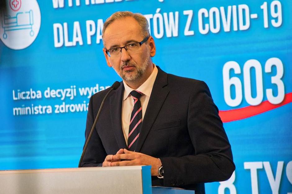 """Minister zdrowia: """"są ograniczenia, będą mandaty""""! - Zdjęcie główne"""