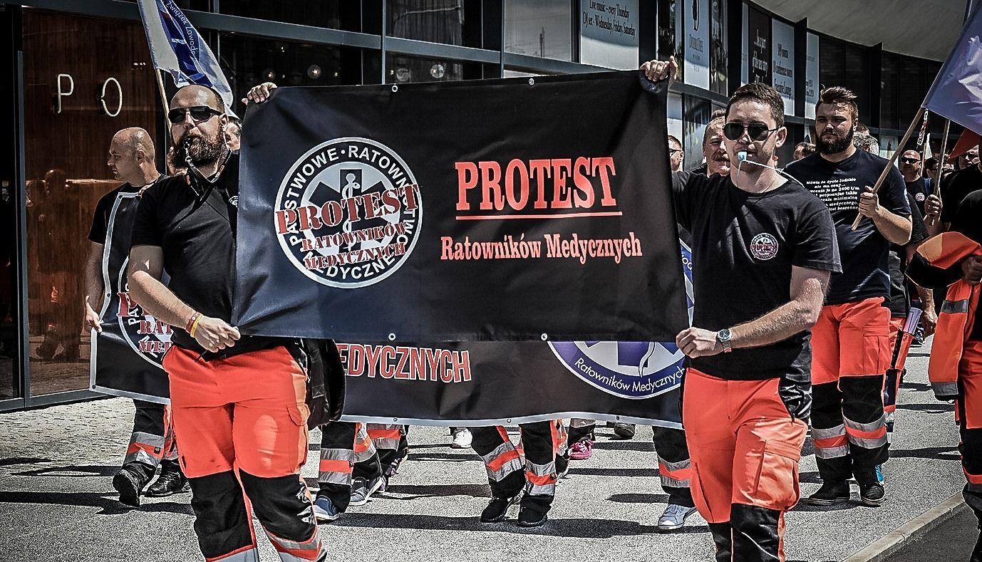Strajk ratowników medycznych na Podkarpaciu! - Zdjęcie główne
