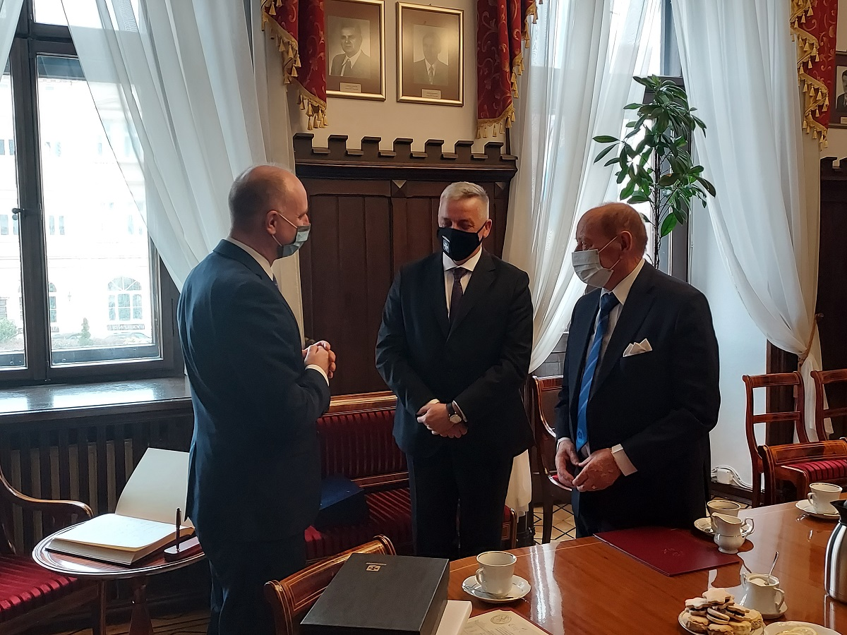 Tadeusz Ferenc odebrał list gratulacyjny od prezydenta RP [ZDJĘCIA] - Zdjęcie główne