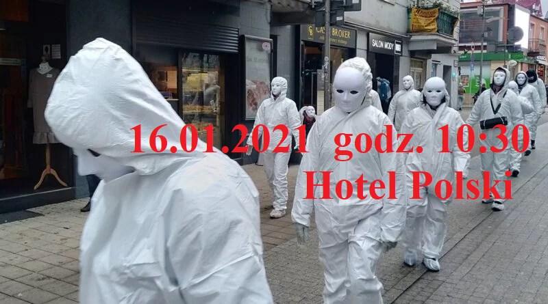 Marsz przeciwników reżimu sanitarnego w Mielcu - Zdjęcie główne