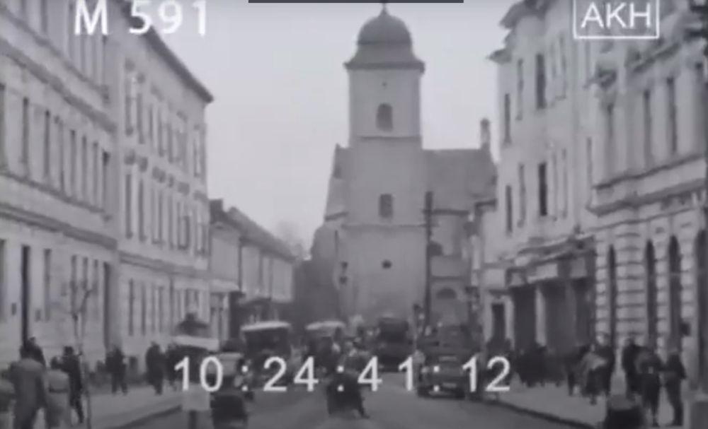 Rzeszów, Jarosław i Przemyśl w czasie drugiej wojny światowej. Zobacz unikalne nagrania filmowe [WIDEO] - Zdjęcie główne