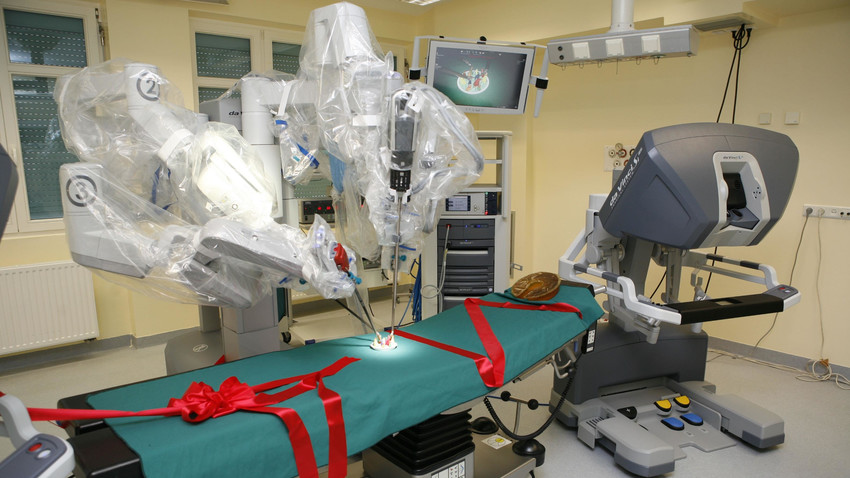 Robot da Vinci na Podkarpaciu. Wykonuje aż 170 typów zabiegów chirurgicznych! - Zdjęcie główne