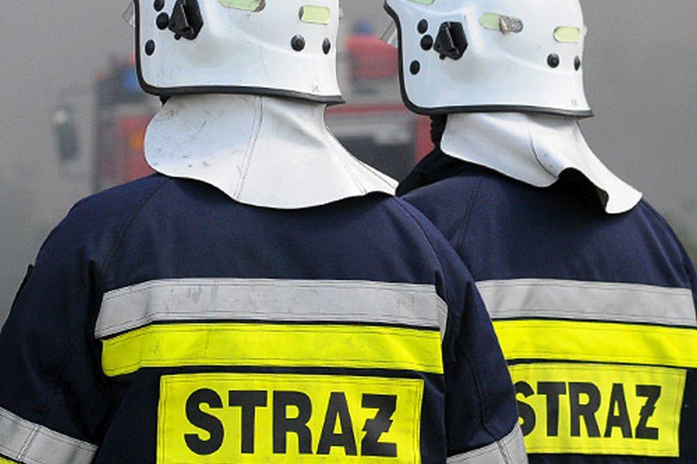 Pożar w Specjalnej Strefie Ekonomicznej w Mielcu! - Zdjęcie główne