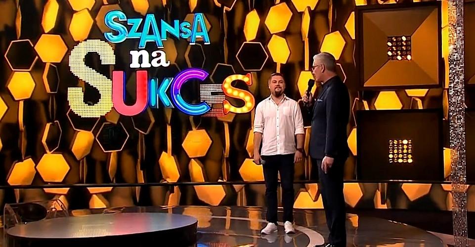 """Hubert Kupiec zaśpiewał w """"Szansie na sukces"""" [FILM] - Zdjęcie główne"""