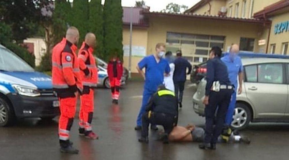FURIAT w szpitalu! Rzucił się na pracownika służby zdrowia! - Zdjęcie główne