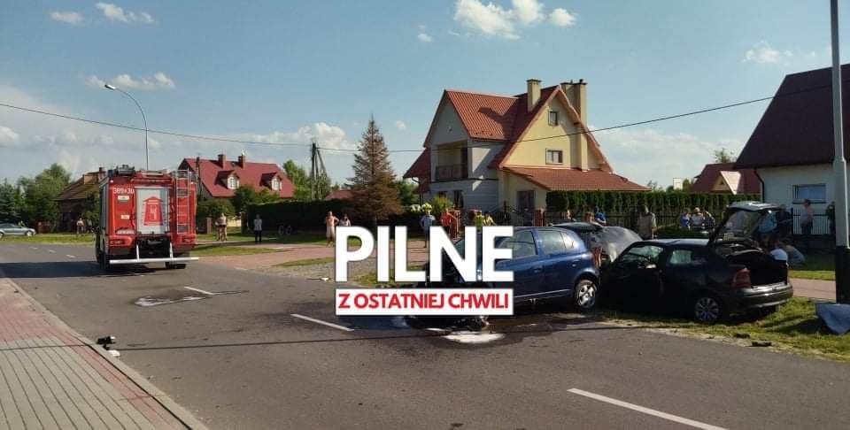 Groźny wypadek w Gorzycach! Czołowe zderzenie dwóch pojazdów! [AKTUALIZACJA] - Zdjęcie główne