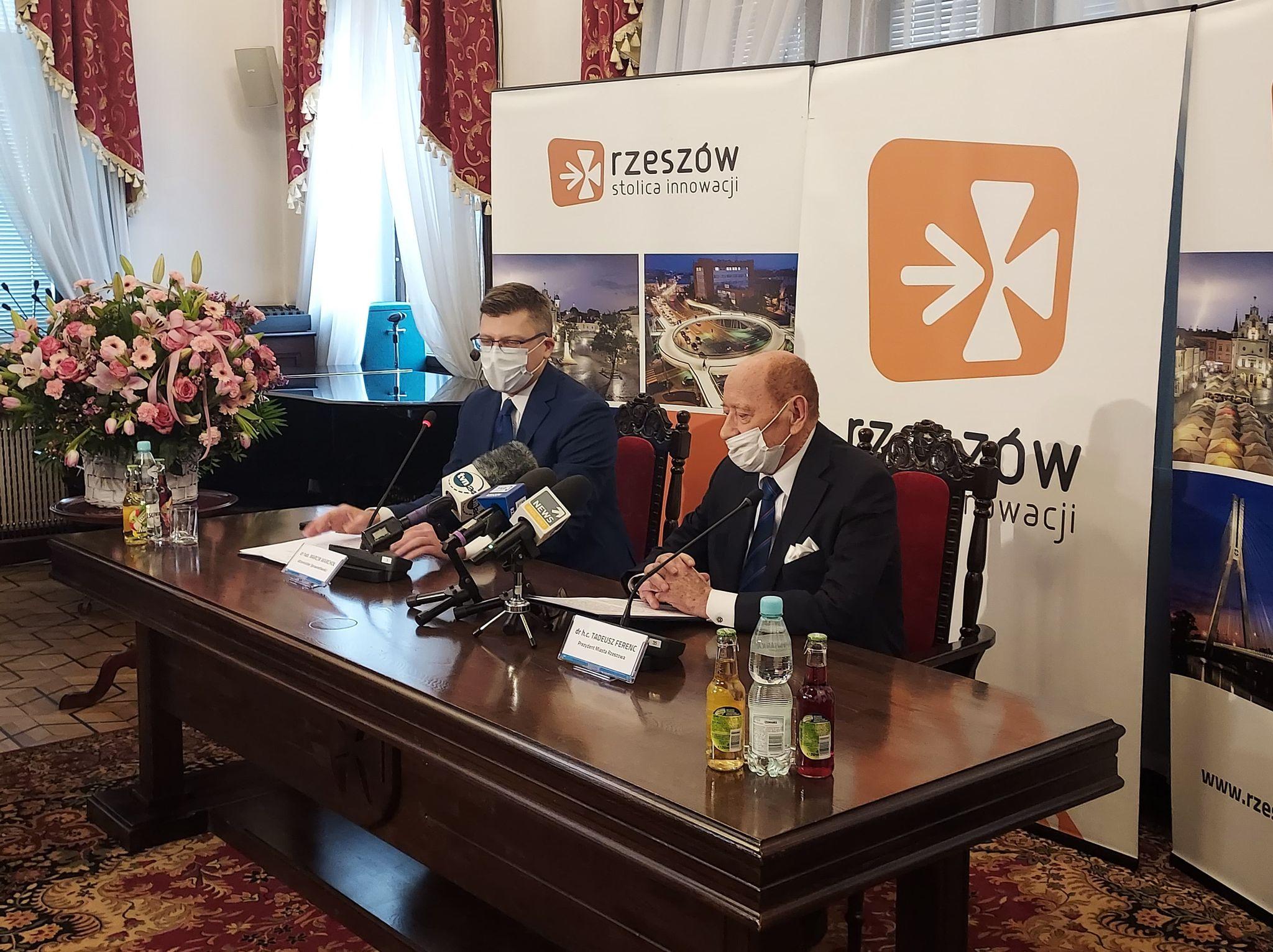 Publikujemy oficjalnie oświadczenie prezydenta Rzeszowa - Zdjęcie główne