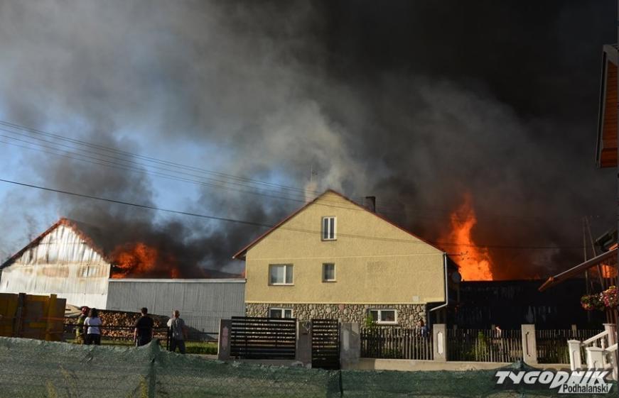 Jaka była przyczyna ogromnego pożaru w Nowej Białej? Są pierwsze ustalenia śledczych [WIDEO] - Zdjęcie główne