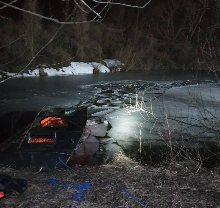 TRAGEDIA! Pod trzema chłopcami załamał się lód! - Zdjęcie główne