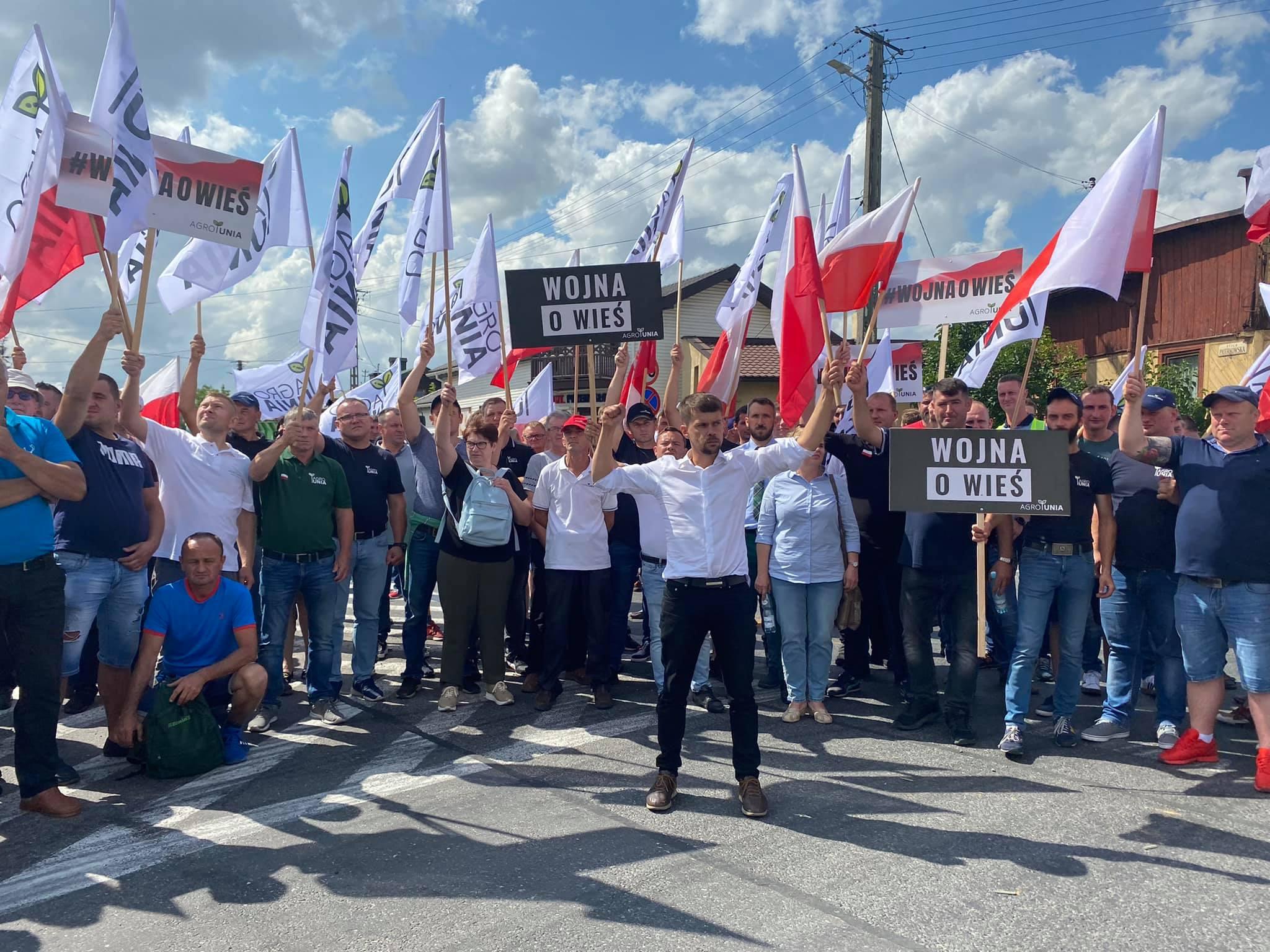 Rolnicy będą protestować na Podkarpaciu! Sprawdź utrudnienia na drogach [MAPA] - Zdjęcie główne