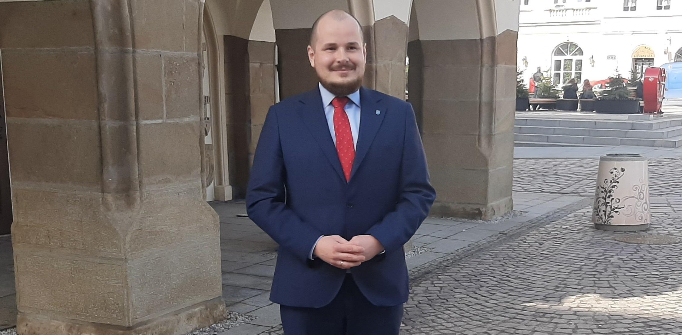 Maciej Masłowski o roli prezydenta Rzeszowa - Zdjęcie główne