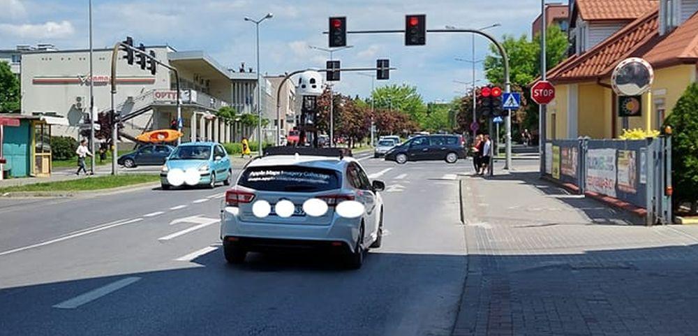 Samochody Apple'a fotografują Podkarpacie. Może znajdziesz się na zdjęciach - Zdjęcie główne