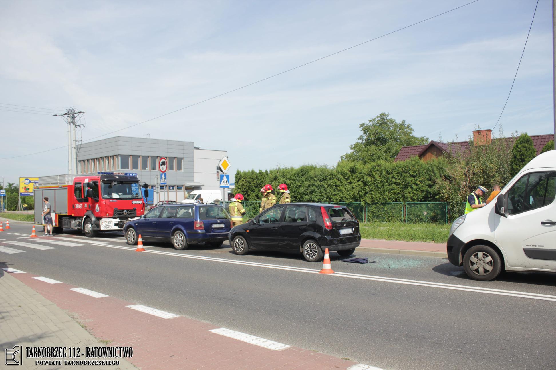 Zderzenie trzech aut. W jednym z nich było małe dziecko! - Zdjęcie główne