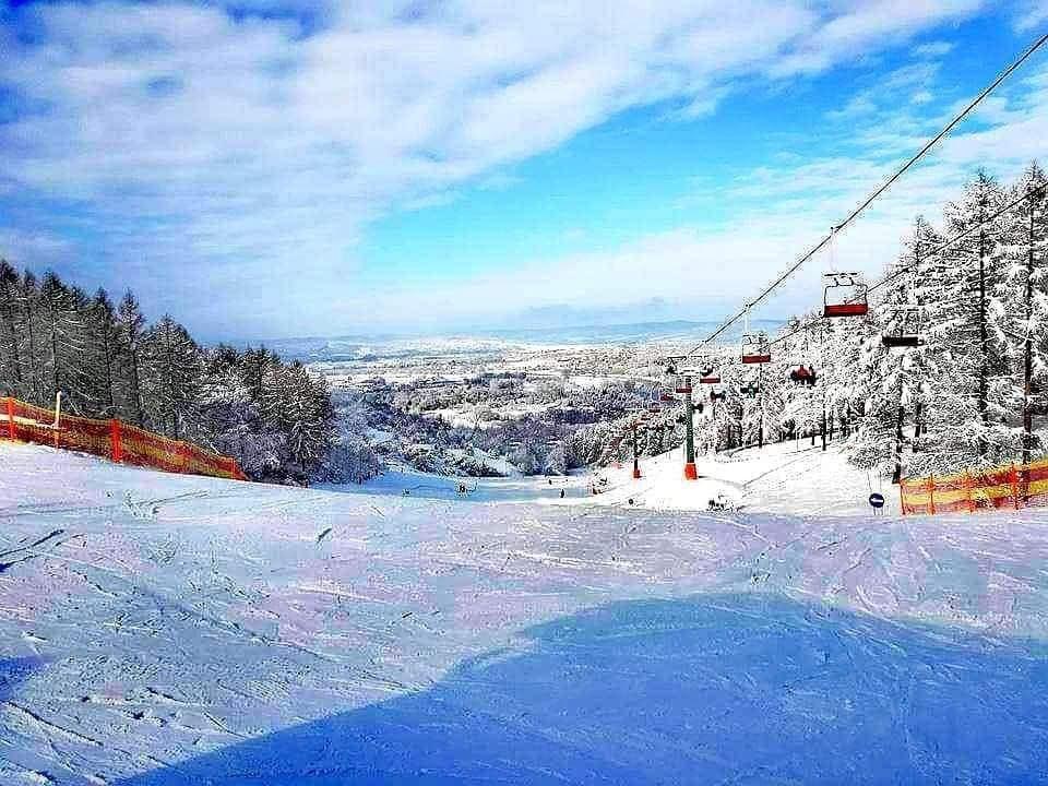 """Przemyśl otwiera stok narciarski. Bakun: """"Pojeździmy!"""" - Zdjęcie główne"""