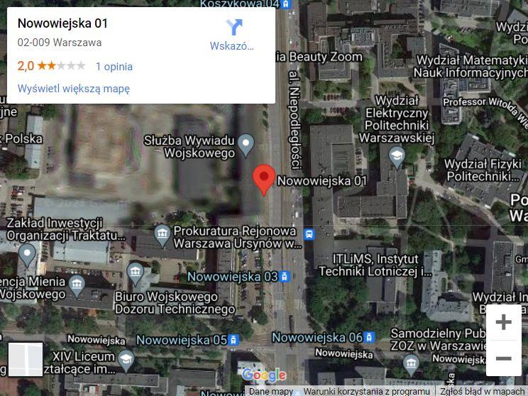 Cenzura na Google Maps i Google Street View. Takie miejsca są również w Polsce [ZDJĘCIA] - Zdjęcie główne
