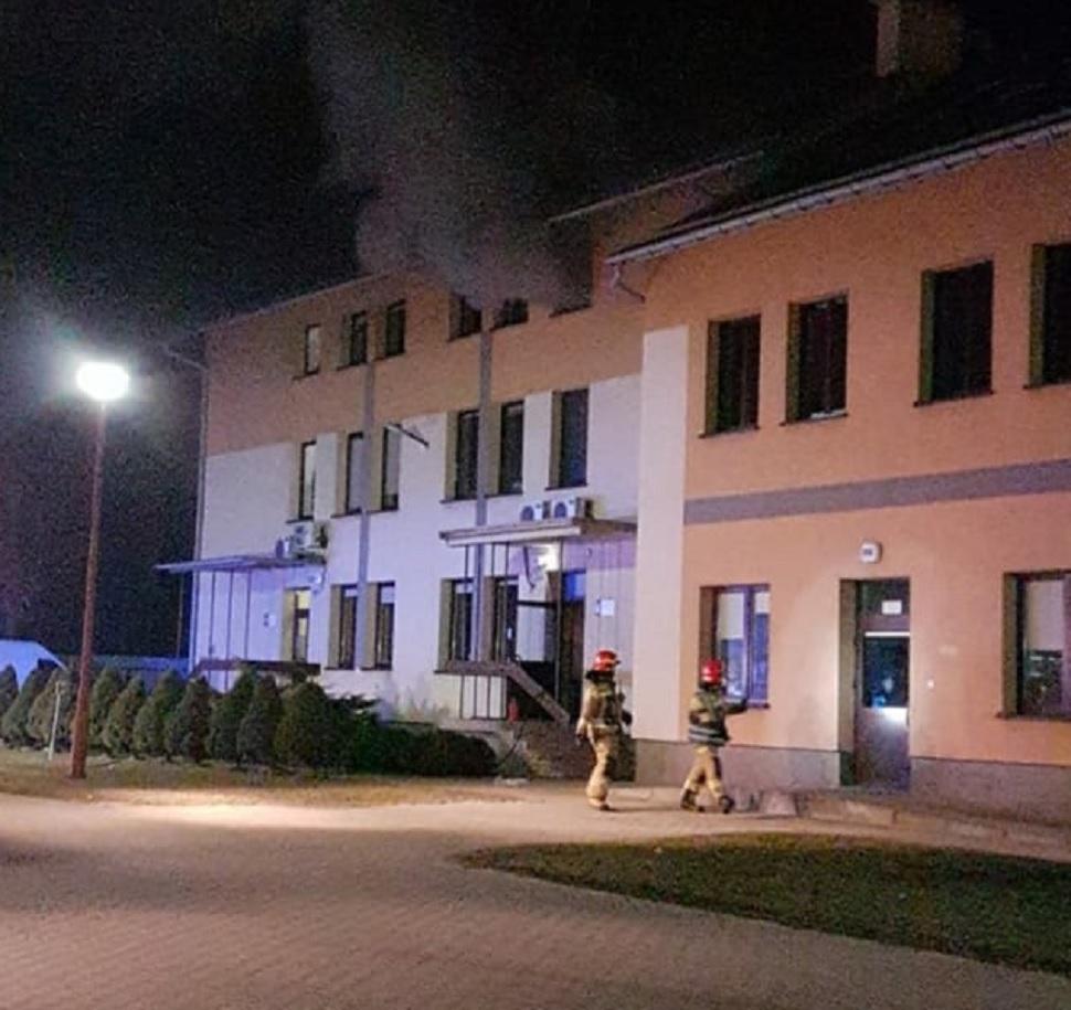 Pożar w jednej z mieleckich firm - Zdjęcie główne