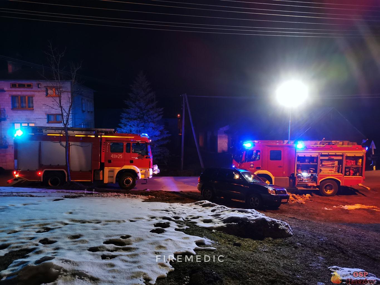 Z komina poleciał żywy ogień. Strażacy ruszyli do akcji [ZDJĘCIA] - Zdjęcie główne