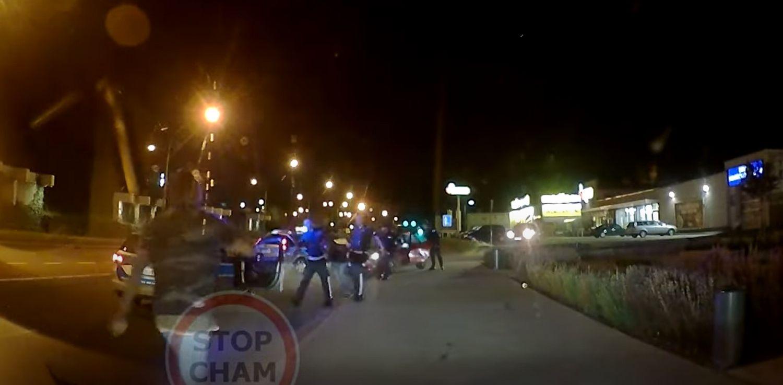 PIJANY kierowca uciekał przed policją. ZOBACZCIE moment zatrzymania [WIDEO] - Zdjęcie główne