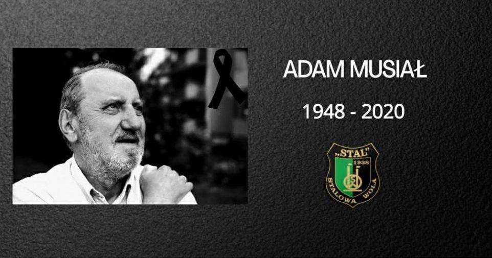 Nie żyje Adam Musiał - Zdjęcie główne