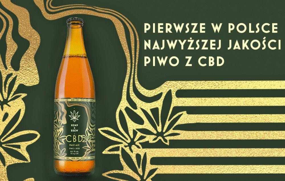 Konopny ekstrakt w piwie - pierwszy taki produkt w kraju wprost z Tarnobrzega! - Zdjęcie główne