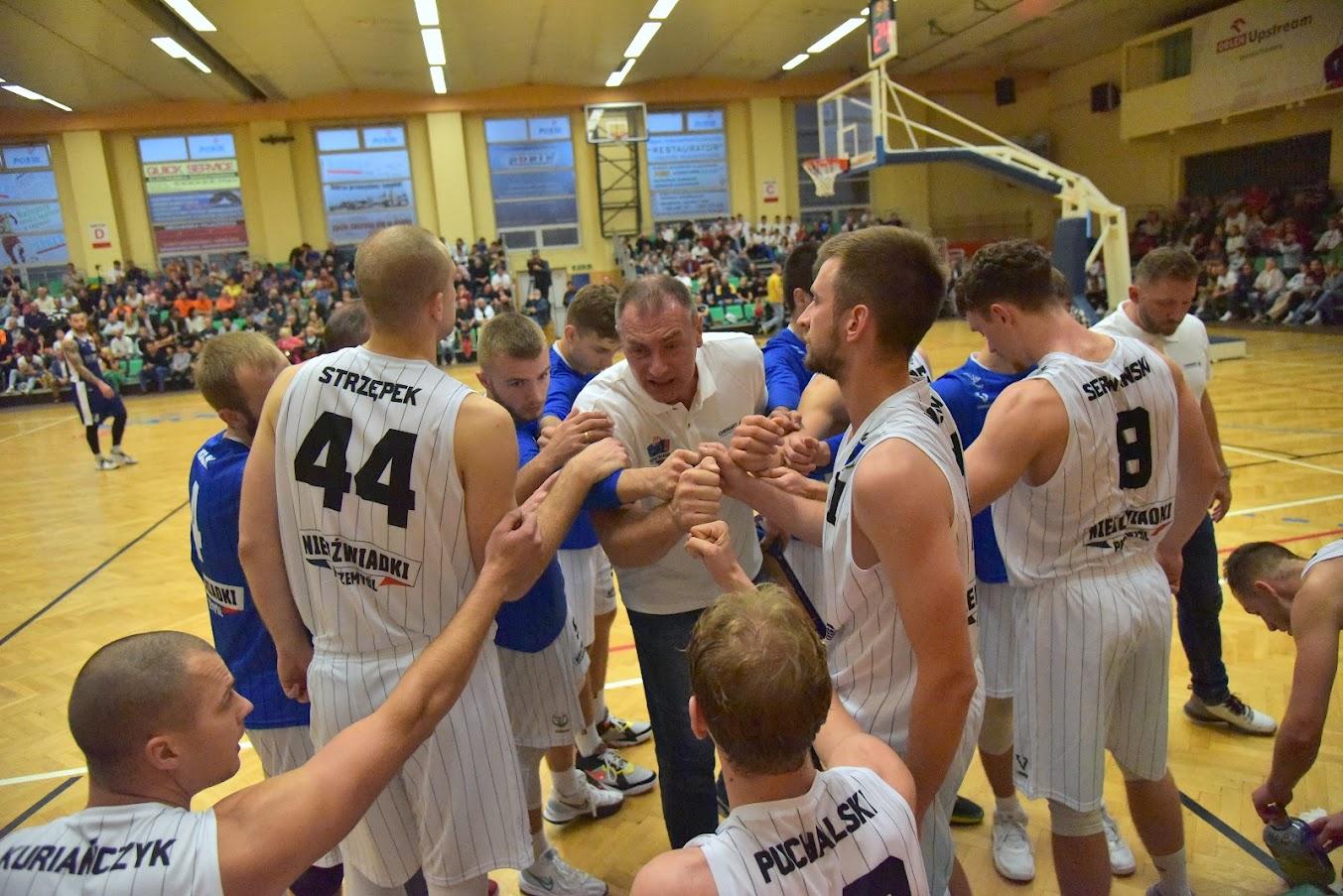 Seniorska koszykówka wróciła do Przemyśla. - Budujemy coś na nowo, a nie kupujemy składu - mówi Daniel Puchalski [ZDJĘCIA, WIDEO] - Zdjęcie główne
