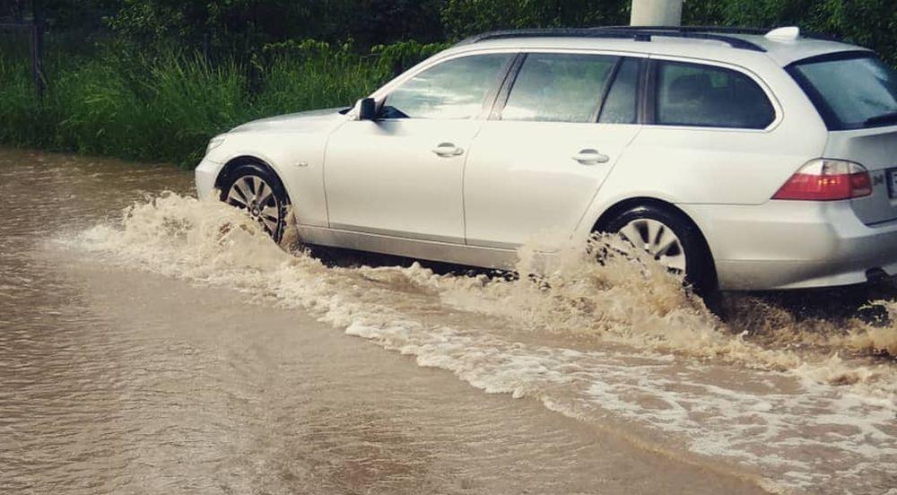Rzeszów pod wodą! Zalane drogi i lokale! - Zdjęcie główne