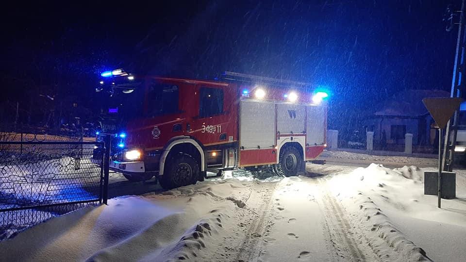 Wybuchł pożar w Nadolu. Dwa zastępy straży ruszyły do akcji - Zdjęcie główne