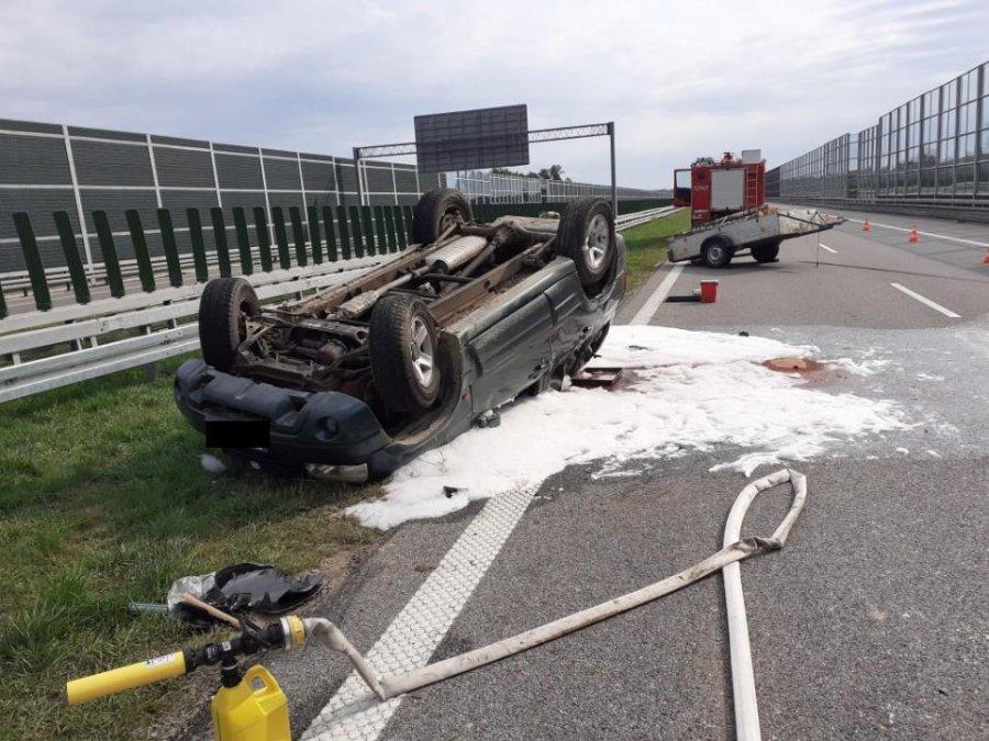 5 osób rannych na autostradzie A4 [FOTO] - Zdjęcie główne