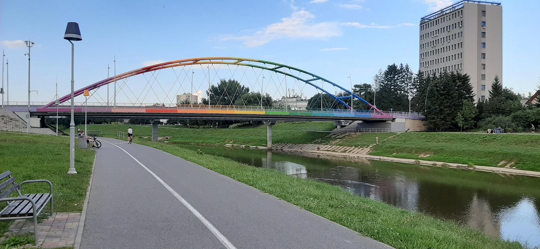 Trwa budowa kładek rowerowych w Rzeszowie. Są utrudnienia - Zdjęcie główne