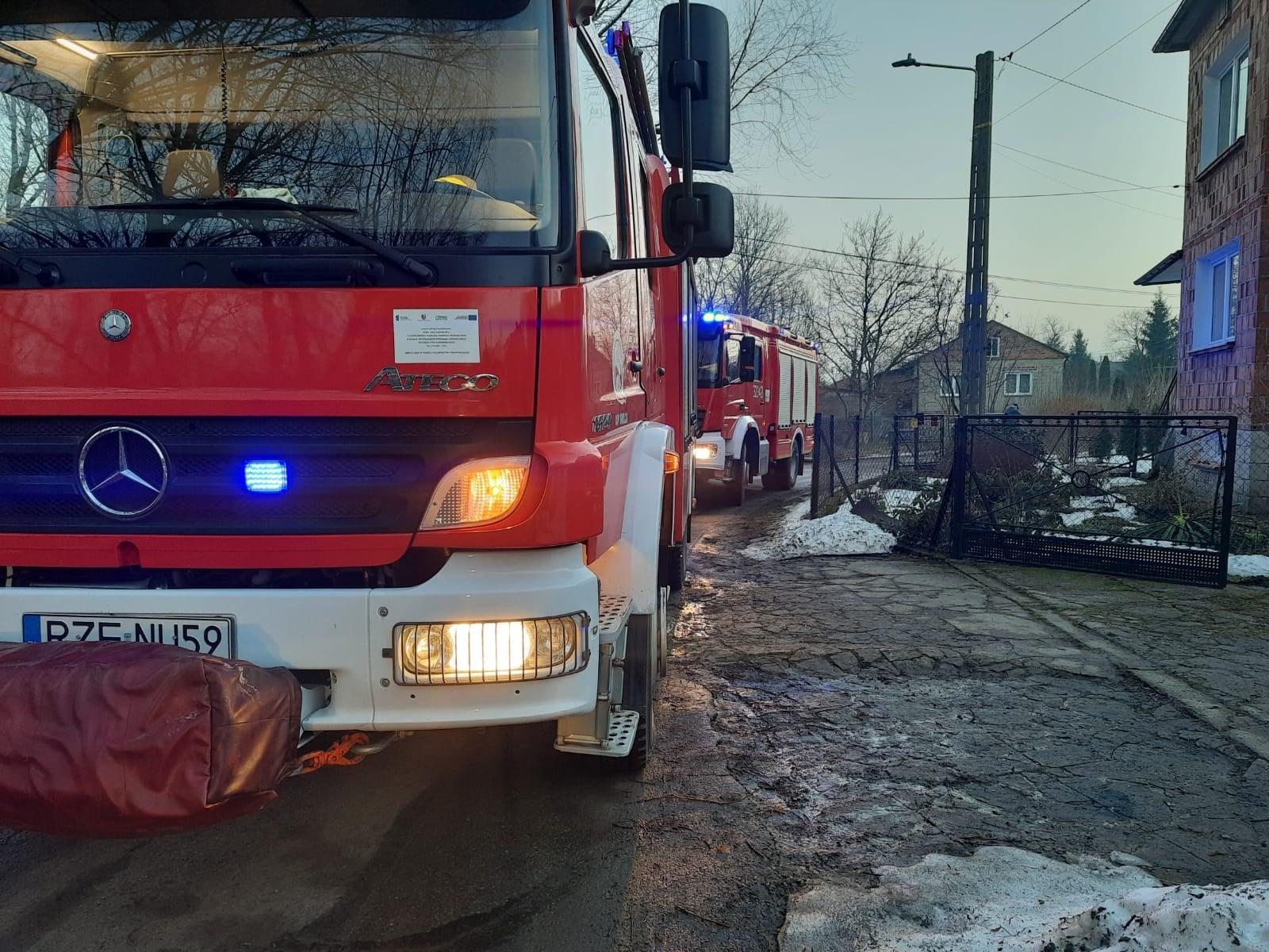Czujnik wykrył czad. Strażacy zareagowali błyskawicznie - Zdjęcie główne