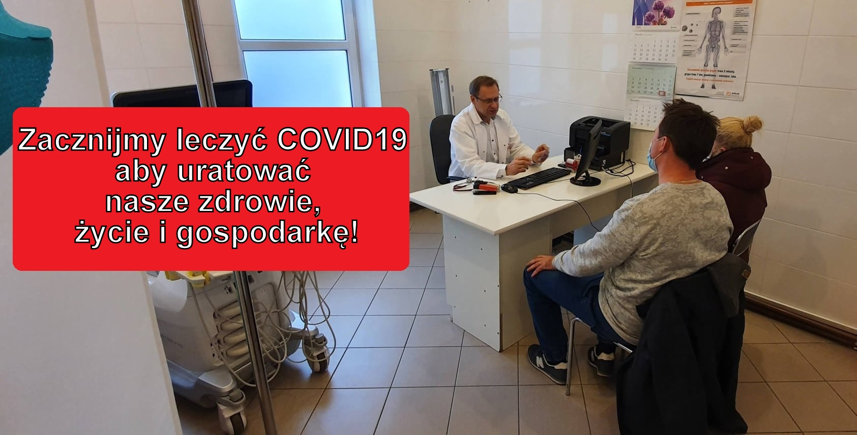 GORĄCY TEMAT: Dr Włodzimierz Bodnar: - Nikomu nie zależy na leczeniu! Na taką pandemię czekano wiele lat! [WIDEO] - Zdjęcie główne