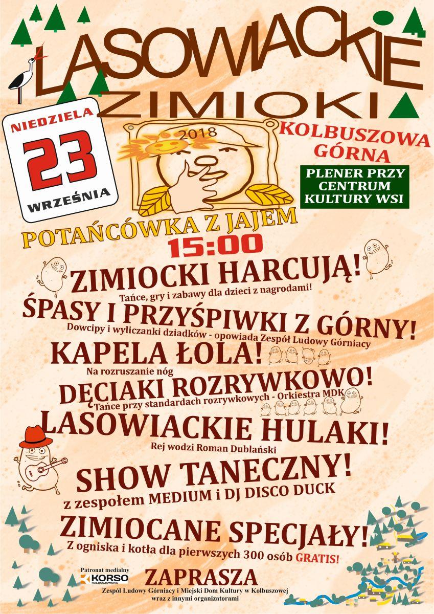 Lasowiackie Zimioki 2018 w Kolbuszowej Górnej. Sprawdź program wrześniowej imprezy [NASZ PATRONAT] - Zdjęcie główne