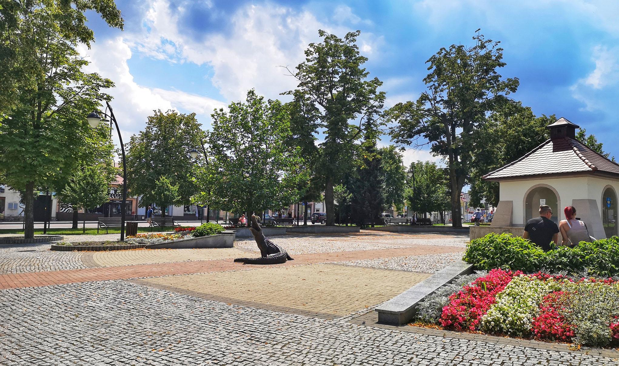 Słoneczna środa na kolbuszowskim rynku [VIDEO] - Zdjęcie główne