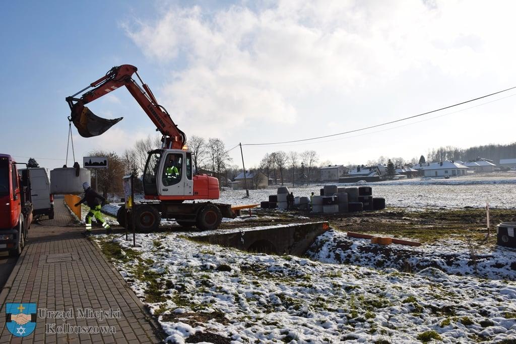 Ruszyła budowa kanalizacji w Weryni [FOTO] - Zdjęcie główne