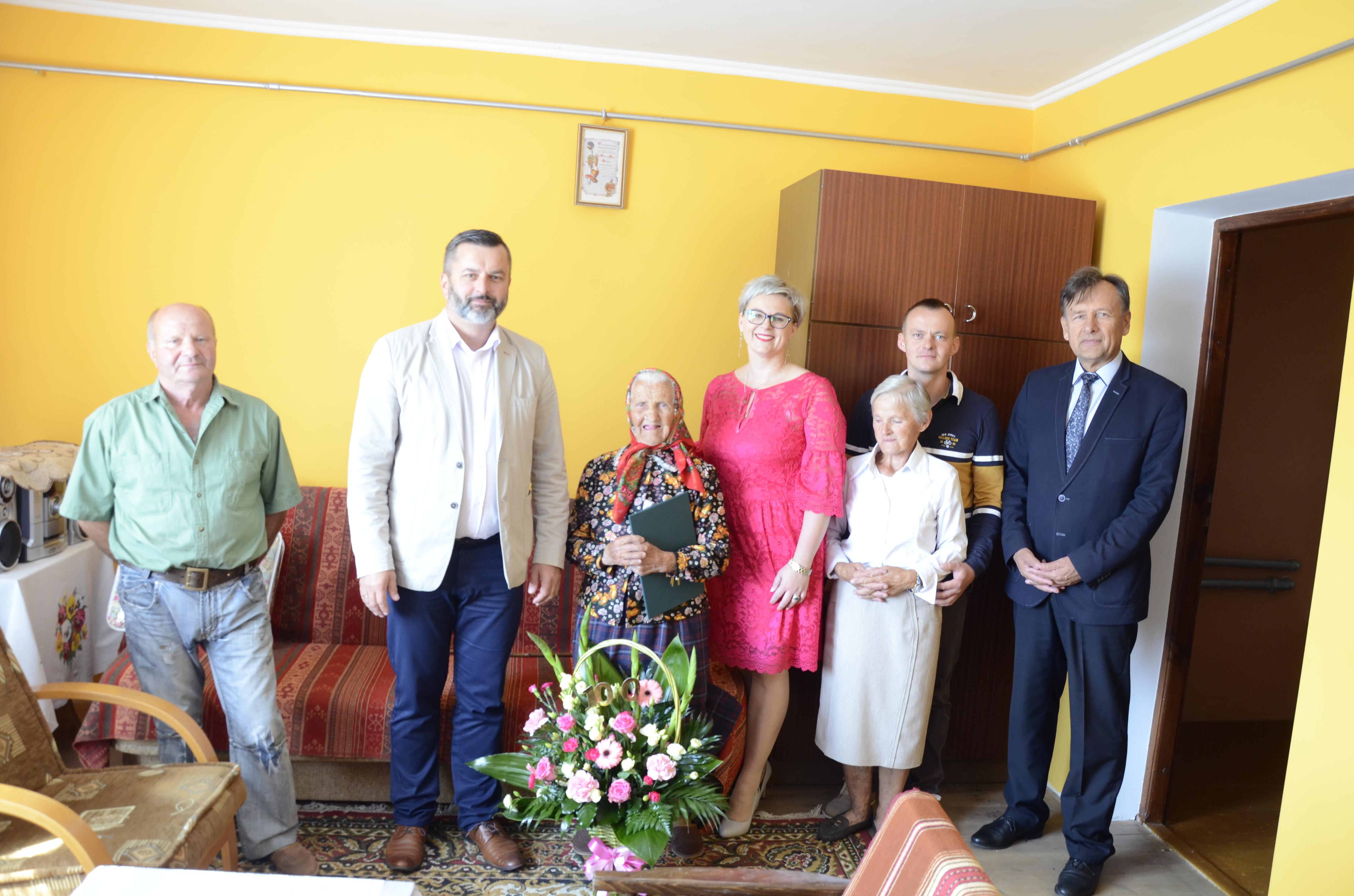 Mieszkanka Porąb Dymarskich dziś obchodzi swoje 100 urodziny - Zdjęcie główne