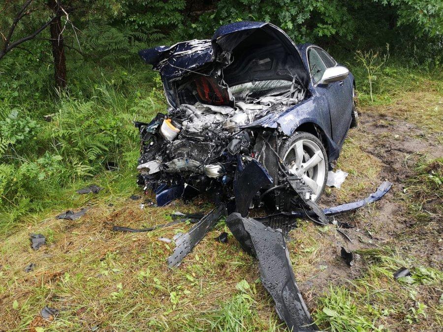 Podkarpacie: Policja o tragicznym wypadku pod Stalową Wolą  - Zdjęcie główne